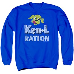 Ken L Ration - Mens Distressed Logo Sweater