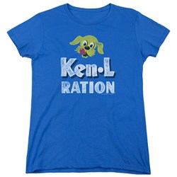 Ken L Ration - Womens Distressed Logo T-Shirt