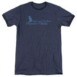 Tender Vittles - Mens Come And Get Em Ringer T-Shirt