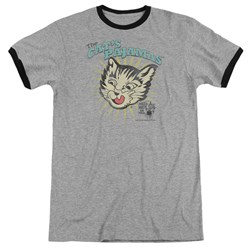 Puss N Boots - Mens Cats Pajamas Ringer T-Shirt