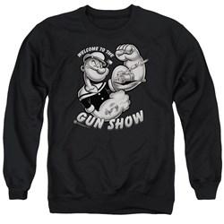 Popeye - Mens Gun Show Sweater