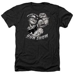 Popeye - Mens Gun Show Heather T-Shirt
