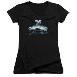 Pontiac - Juniors Silver Grand Am V-Neck T-Shirt