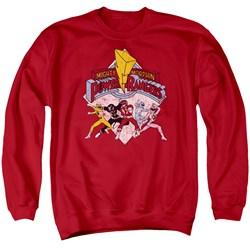 Power Rangers - Mens Retro Rangers Sweater