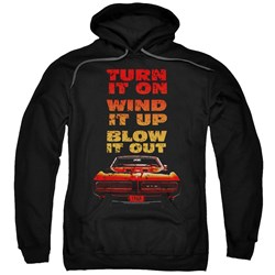Pontiac - Mens Blow It Out Gto Pullover Hoodie