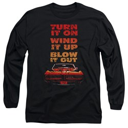 Pontiac - Mens Blow It Out Gto Long Sleeve T-Shirt