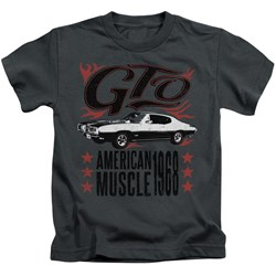 Pontiac - Little Boys Gto Flames T-Shirt