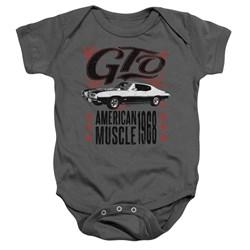 Pontiac - Toddler Gto Flames Onesie