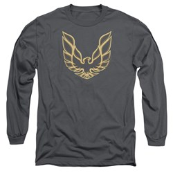 Pontiac - Mens Iconic Firebird Long Sleeve T-Shirt