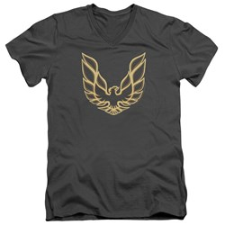 Pontiac - Mens Iconic Firebird V-Neck T-Shirt