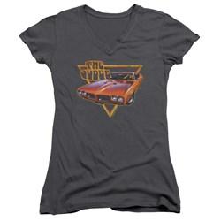 Pontiac - Juniors Judged V-Neck T-Shirt
