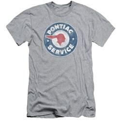 Pontiac - Mens Vintage Pontiac Service Slim Fit T-Shirt