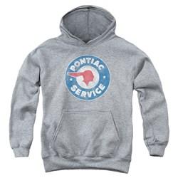 Pontiac - Youth Vintage Pontiac Service Pullover Hoodie