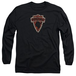 Pontiac - Mens Early Pontiac Arrowhead Long Sleeve T-Shirt