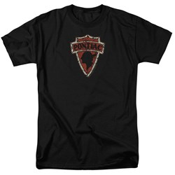 Pontiac - Mens Early Pontiac Arrowhead T-Shirt