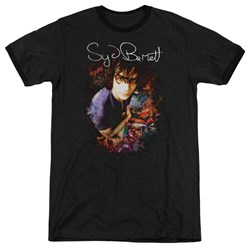 Syd Barrett - Mens Madcap Syd Ringer T-Shirt