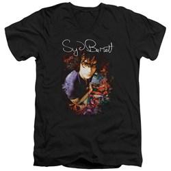 Syd Barrett - Mens Madcap Syd V-Neck T-Shirt