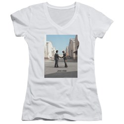 Pink Floyd - Juniors Wish You Were Here V-Neck T-Shirt