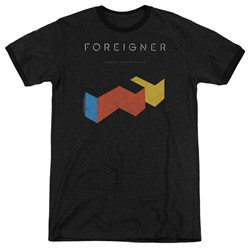 Foreigner - Mens Agent Provocateur Ringer T-Shirt