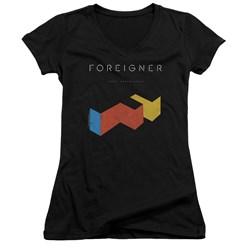 Foreigner - Juniors Agent Provocateur V-Neck T-Shirt