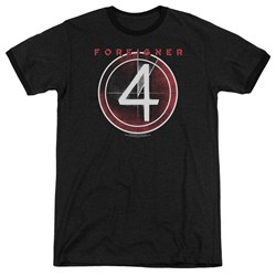 Foreigner - Mens 4 Album Ringer T-Shirt