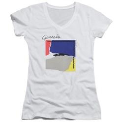 Genesis - Juniors Abacab V-Neck T-Shirt