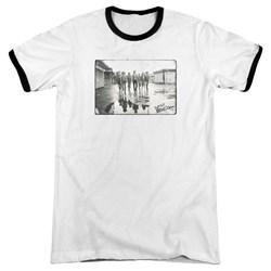 Warriors - Mens Rolling Deep Ringer T-Shirt