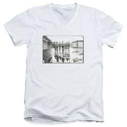 Warriors - Mens Rolling Deep V-Neck T-Shirt