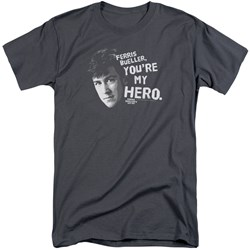 Ferris Bueller - Mens My Hero Tall T-Shirt