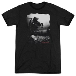 Sleepy Hollow - Mens Foggy Night Ringer T-Shirt