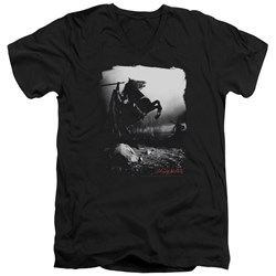 Sleepy Hollow - Mens Foggy Night V-Neck T-Shirt