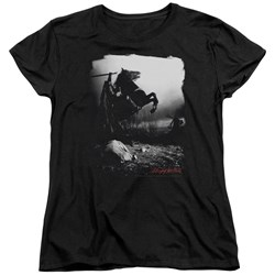 Sleepy Hollow - Womens Foggy Night T-Shirt