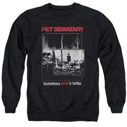 Pet Semetary - Mens Cat Poster Sweater