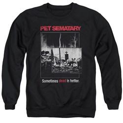 Pet Semetary - Mens Cat Poster Sweater