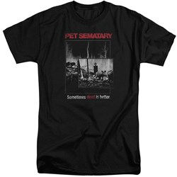 Pet Semetary - Mens Cat Poster Tall T-Shirt