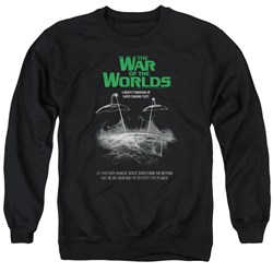 War Of The Worlds - Mens Attack Poster Sweater