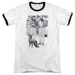 Cheech & Chong - Mens Cheech Chong Dog Ringer T-Shirt