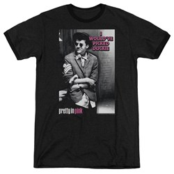 Pretty In Pink - Mens I Wouldve Ringer T-Shirt