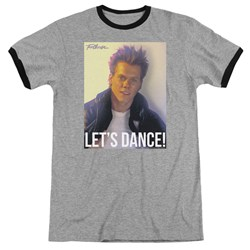 Footloose - Mens Lets Dance Ringer T-Shirt