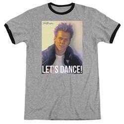 Footloose - Mens Lets Dance Ringer T-Shirt