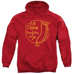 Ferris Bueller - Mens Abe Froman Pullover Hoodie