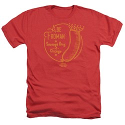 Ferris Bueller - Mens Abe Froman Heather T-Shirt