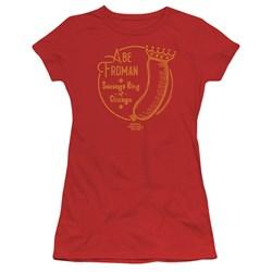 Ferris Bueller - Juniors Abe Froman T-Shirt