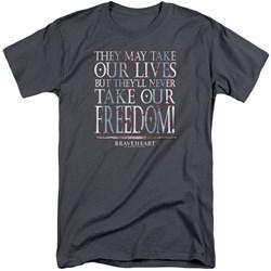 Braveheart - Mens Freedom Tall T-Shirt