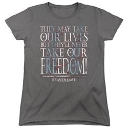 Braveheart - Womens Freedom T-Shirt