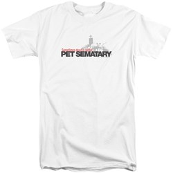 Pet Sematary - Mens Logo Tall T-Shirt