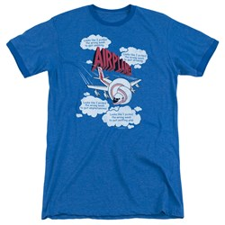 Airplane - Mens Picked The Wrong Day Ringer T-Shirt