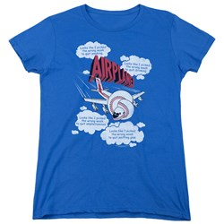 Airplane - Womens Picked The Wrong Day T-Shirt