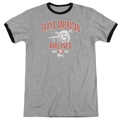 Airplane - Mens Trans American Ringer T-Shirt