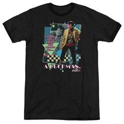 Pretty In Pik - Mens A Duckman Ringer T-Shirt